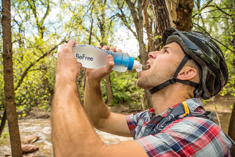 Katadyn 1.0L Water Filter Fast Flow Filtering Water Bottle