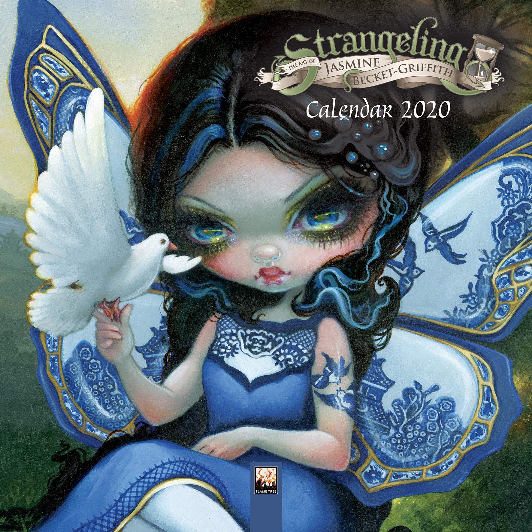 Afl Calendar 2020 Amazon.com: Jasmine Becket Griffith Mini Wall Calendar 2020 (Art