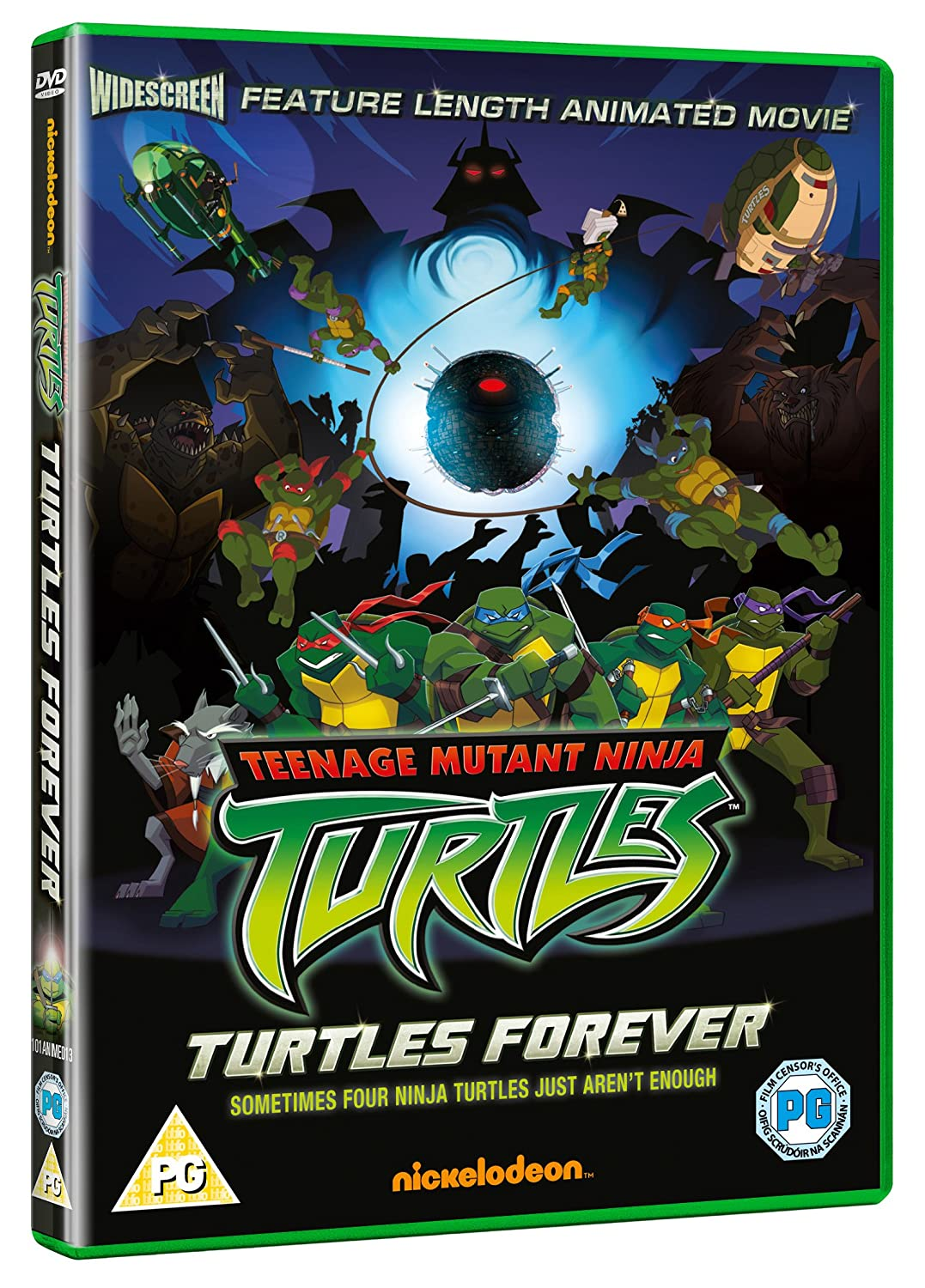Teenage Ninja Mutant Turtles Turtles Forever Reino Unido DVD ...