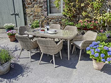 Rattan Gartengarnitur Lounge Gartenset Sitzgruppe Gartenmöbel