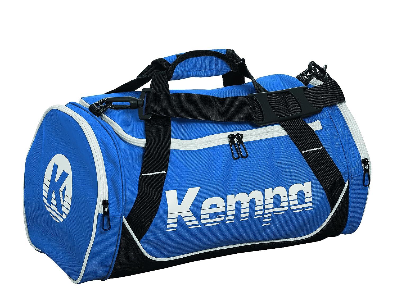 Kempa Sports Bag Bolso de Gimnasio, 45 cm, 30 litros, Azul Royal/Negro/Blanco 200489603