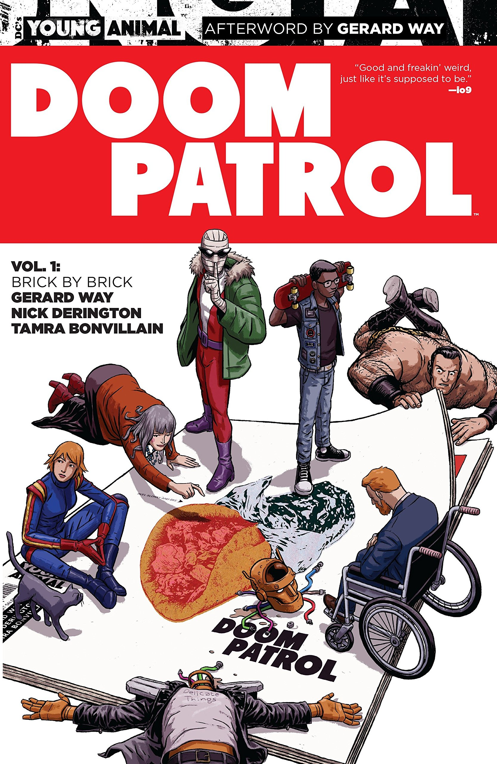 Amazon Com Doom Patrol Vol 1 Brick By Brick Young Animal