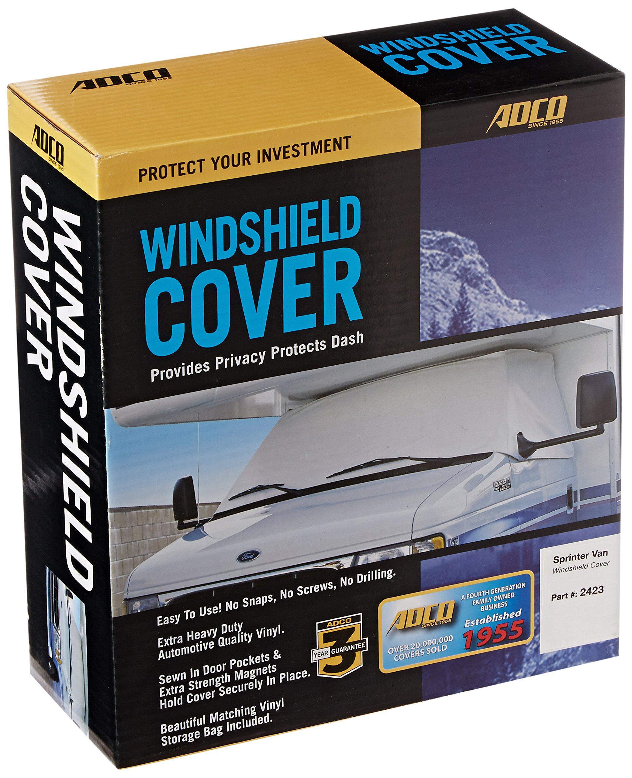 ADCO 2423 Polar White Windshield Cover Sprinter by ADCO