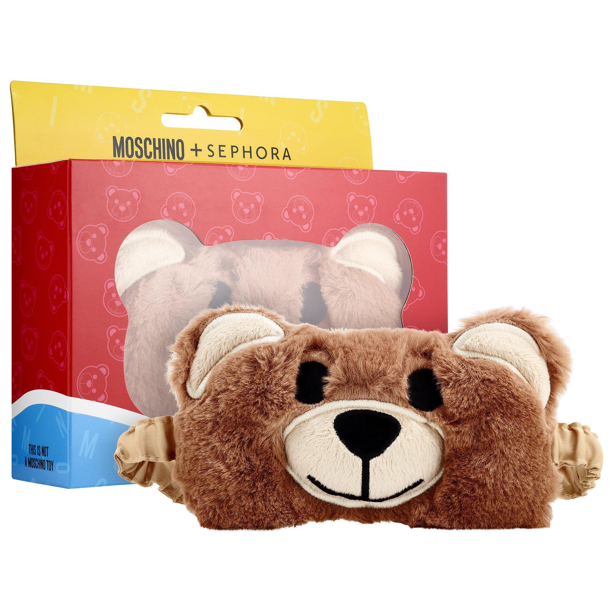 MOSCHINO + SEPHORA Moschino Bear Eye Mask