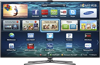 Samsung UN55ES7500F - Televisor (139,7 cm (55