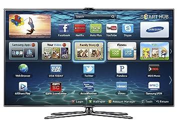 samsung tv 60 inch. samsung un55es7500 55-inch 1080p 240hz 3d slim led hdtv (black) (2012 tv 60 inch u