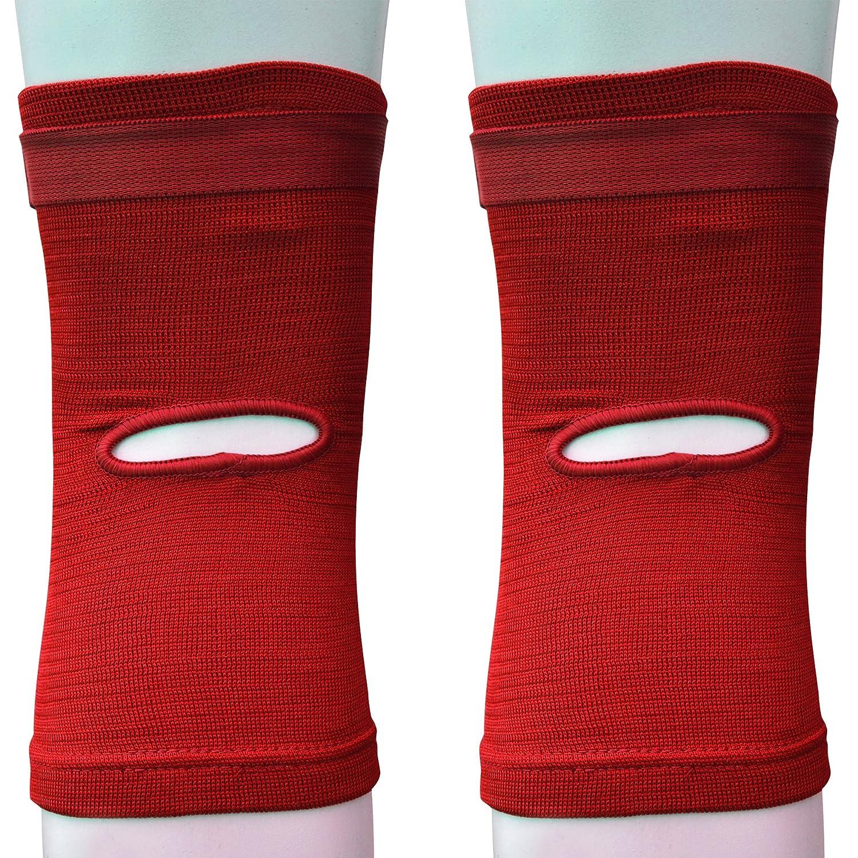 AQF Kniebandage Protector Schaumstoff Pads Guard Packungen Gummizug Shield