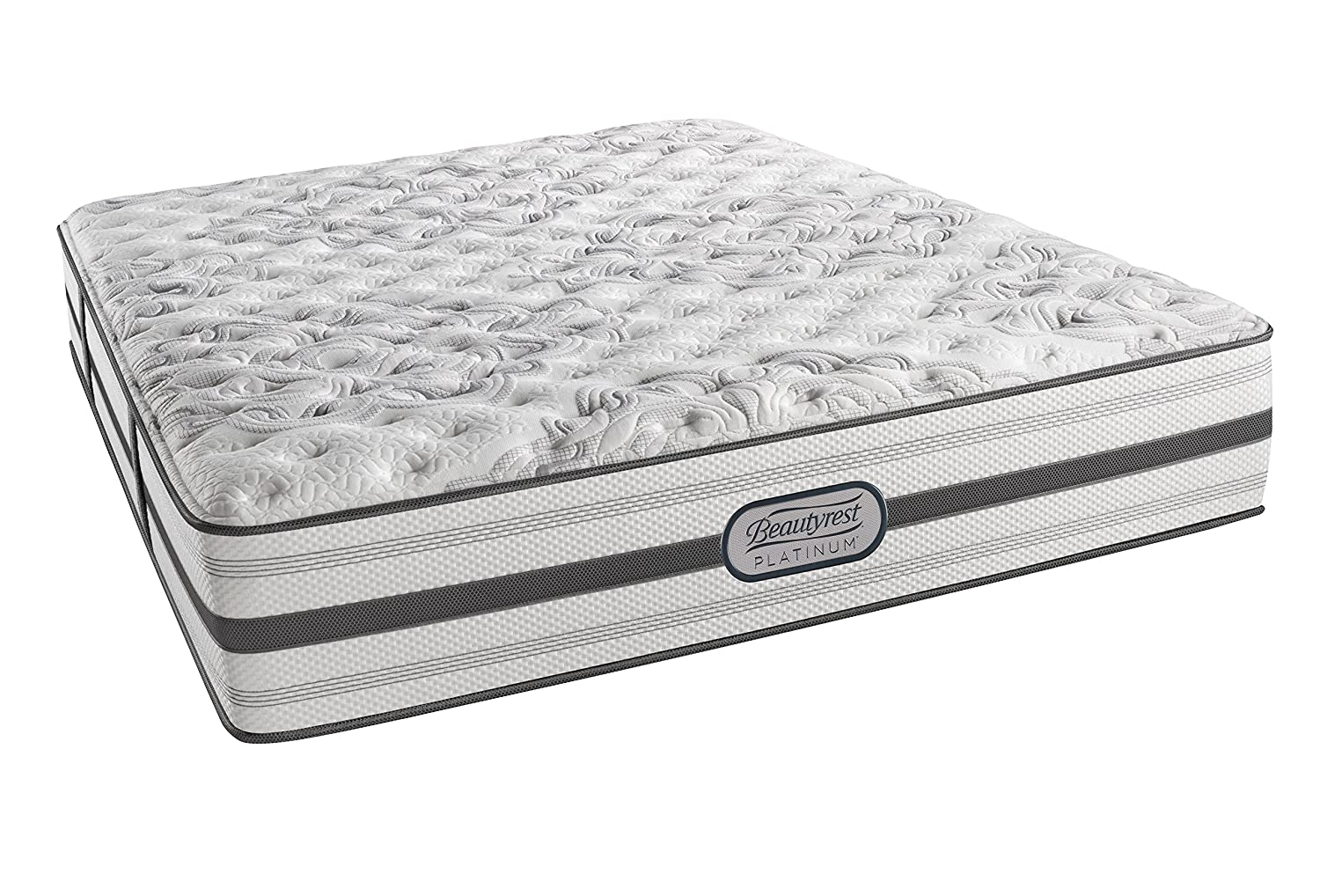 amazon com beautyrest platinum extra firm badger queen innerspring