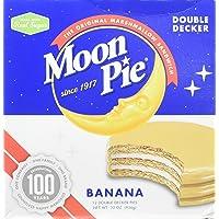 Deals on 12-pack MoonPie Double Decker Banana Marshmallow Sandwich 2oz