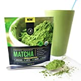 Amazon Price History for:Matcha Green Tea Powder Organic - Japanese Culinary Grade (Smoothies, Lattes, Baking, Recipes) - Antioxidants, Energy Boost - Jade Leaf Brand [30g Starter Size]