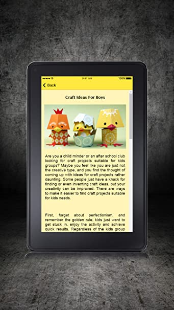 Amazon Com Craft Ideas For Kids Appstore For Android