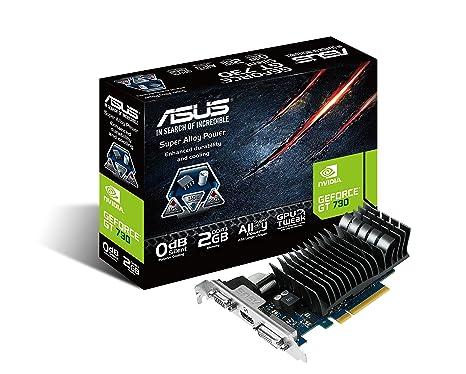 ASUS GT730-SL-2GD3-BRK - Tarjeta gráfica (DDR3 2 GB, PCI Express ...
