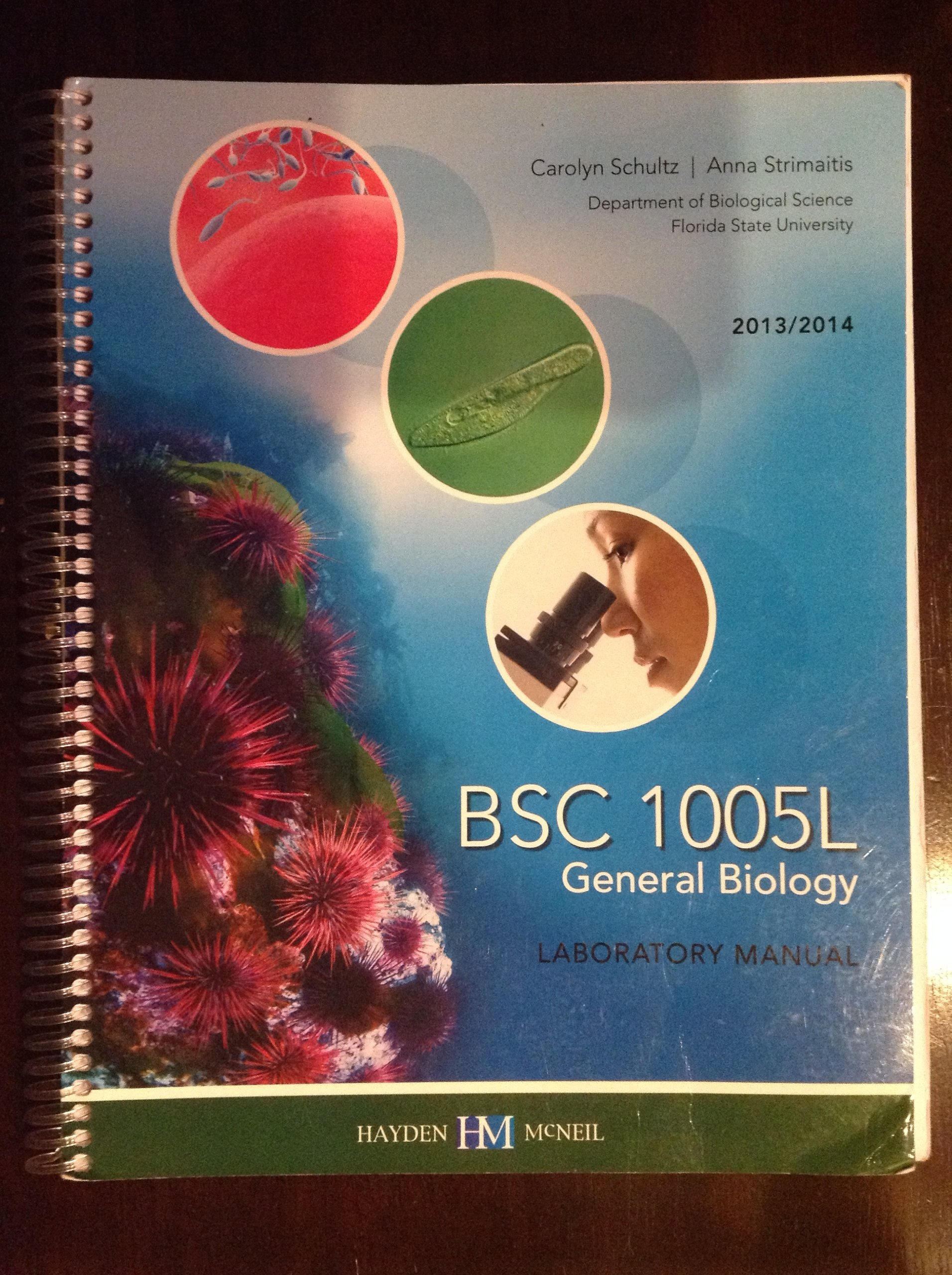 BSC 1005L General Biology Laboratory Manual: 9780738041957: Amazon.com:  Books