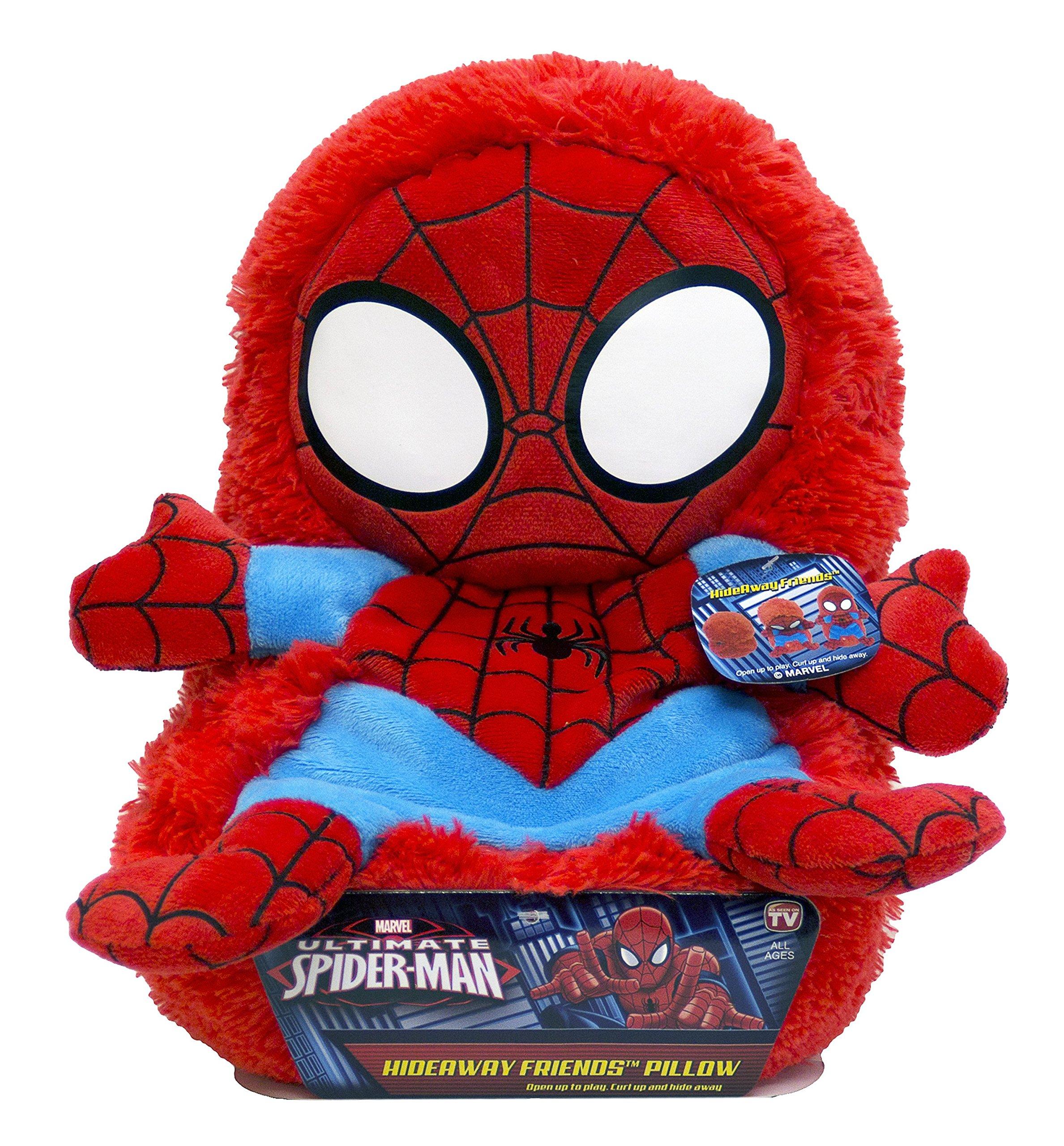 Marvel JF22404ECCD Spiderman 14'' Hideaway Pet Pillow
