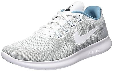 Nike Wmns Free RN 2017 S, Zapatillas de Running para Mujer, Gris (Wolf Grau/weiß-Himmelblau-Schwarz), 38 EU: Amazon.es: Zapatos y complementos