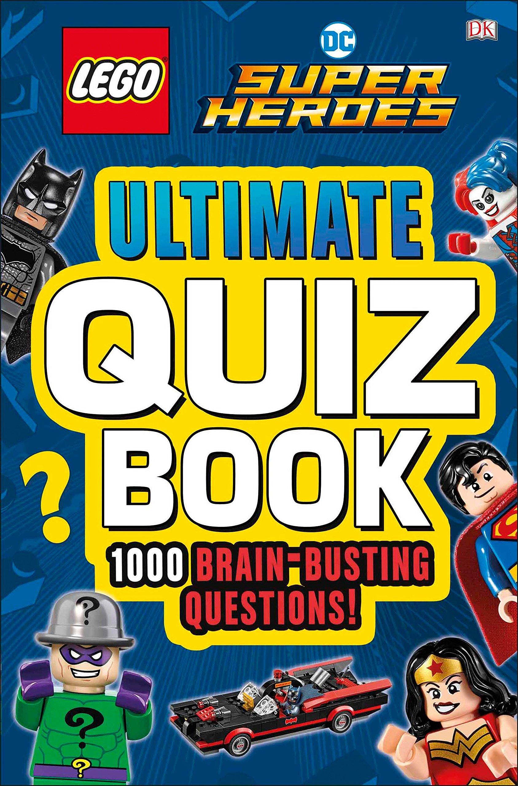 LEGO DC Comics Super Heroes Ultimate Quiz Book PDF