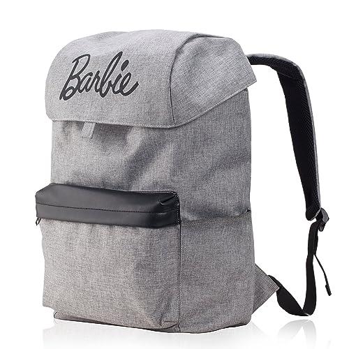 Barbie Bolso Mochila para viajar muy funcional con gran capacidad BBBP150# 46x30x20CM (gris)
