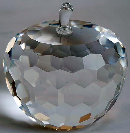 b6e9c72b48054 Simon Designs SD220351 Crystal Apple Paperweight 3