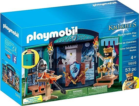 Playmobil 5659 - MALETÍN Caballeros Reales - Exclusivo: Amazon.es: Juguetes y juegos