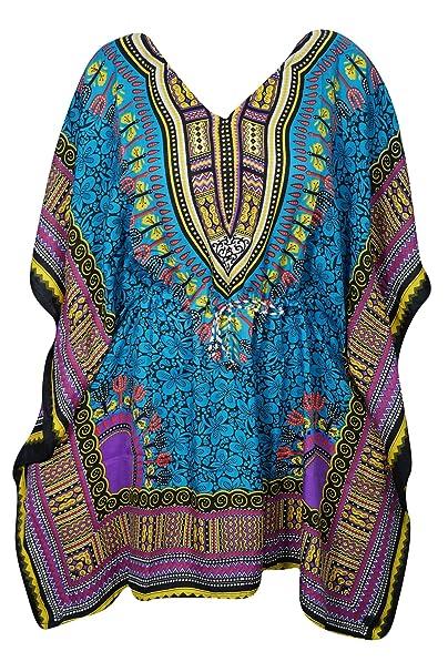 Mogul Interior - Vestido - kimono - para mujer Green-1 Talla única: Amazon.es: Ropa y accesorios