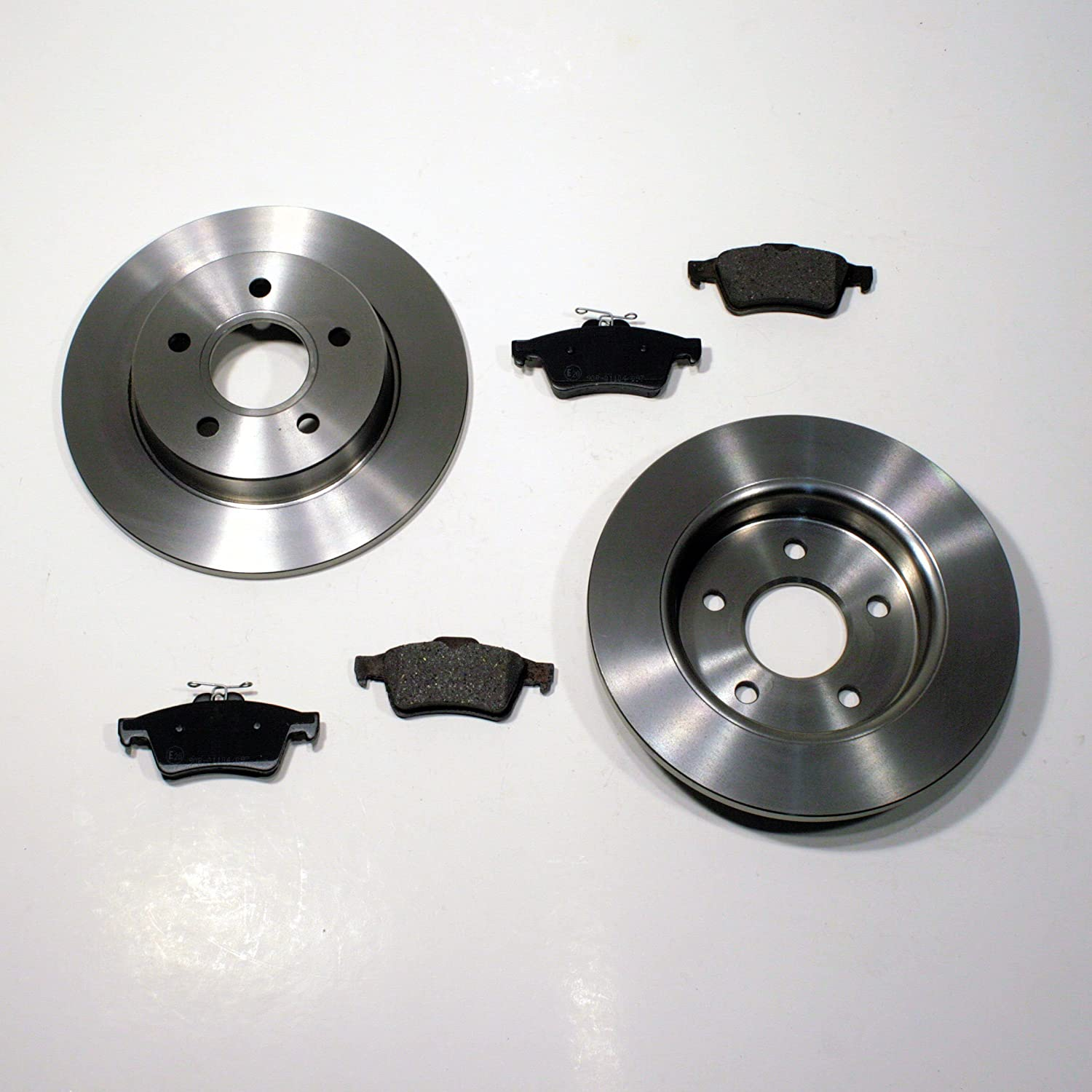 REAR BRAKE DISCS AND BRAKE PADS FITS FORD FOCUS C-MAX