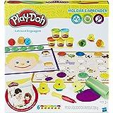 Conjunto Massinha Play-Doh Aprendendo As Letras Hasbro