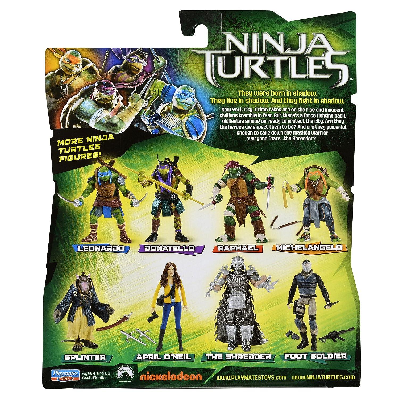 Teenage Mutant Ninja Turtles 2014 Película, La Figura ...