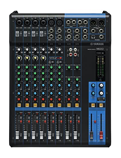 Yamaha MG12 12-Channel Mixing Console