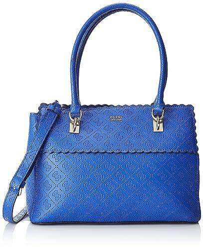 Guess Hobo, Borsa a spalla Donna, Blu (Blue), 14.5x24x32 cm