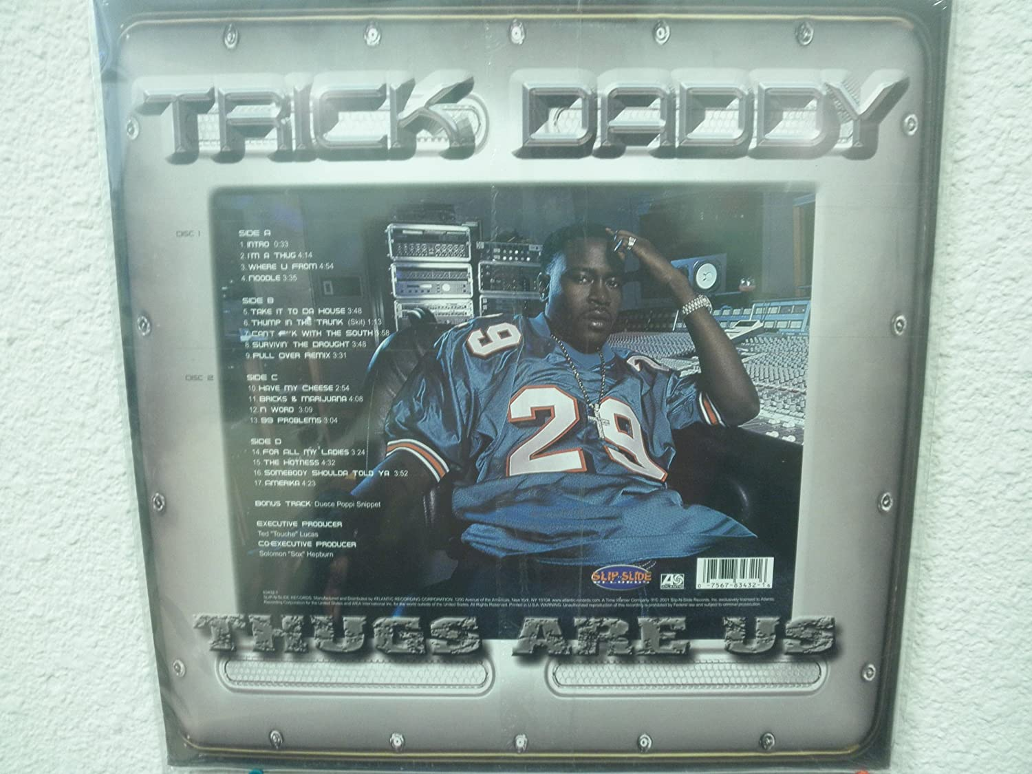 8650220000f2 Trick Daddy - Thugs Are Us  Vinyl  - Amazon.com Music