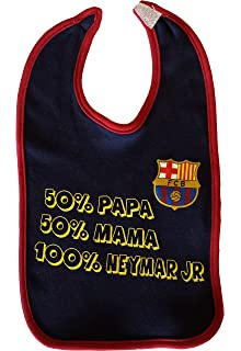 8b5eeac04b080 Fc Barcelone Bavoir bébé Barça - NEYMAR Jr - Collection officielle  Divers