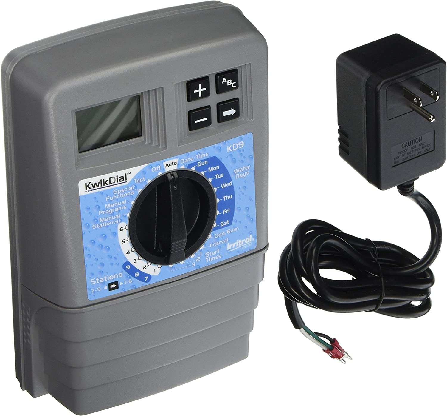 Irritrol Kwik Dial 9 Station Indoor Irrigation Controller