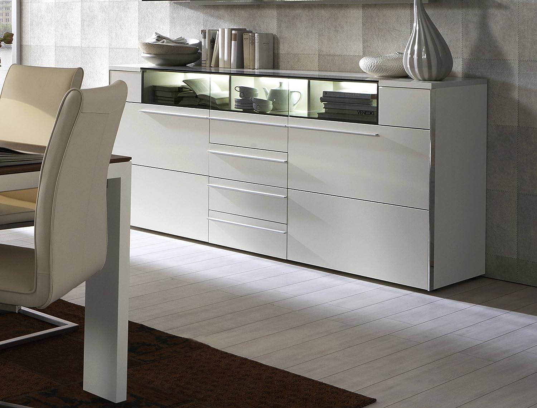 Holtkamp Wohnideen Sideboard, Weiß: Amazon.de: Küche & Haushalt