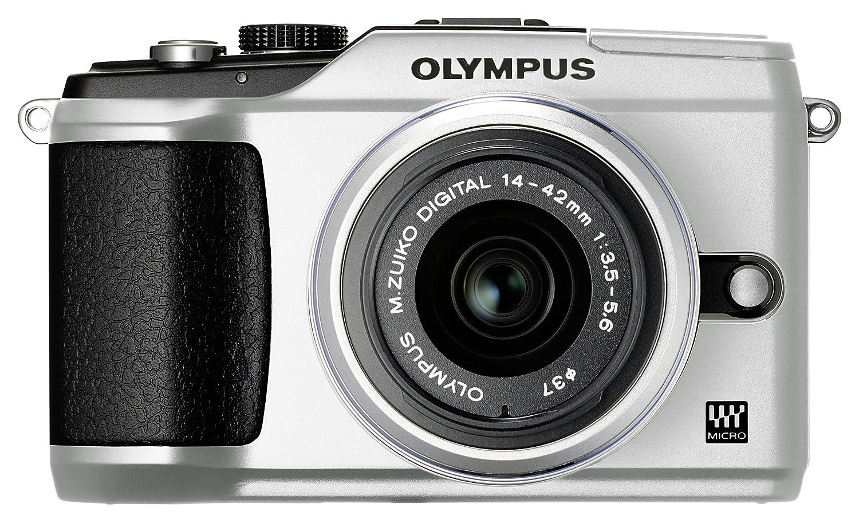 Olympus E-PL2 Compact System Camera - Silver: Amazon co uk: Camera