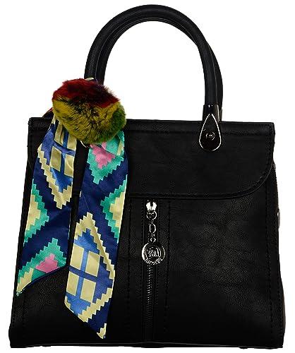 3054dd432d975 Pluto Plus Designer Women's Handbags Limited Edition (Black, K5966):  Amazon.in: Shoes & Handbags