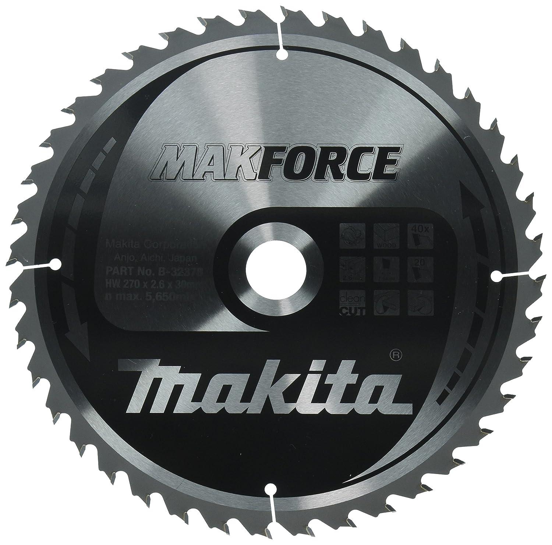 Makita makforce saege Lame 40/T 270/x 30/mm 32378