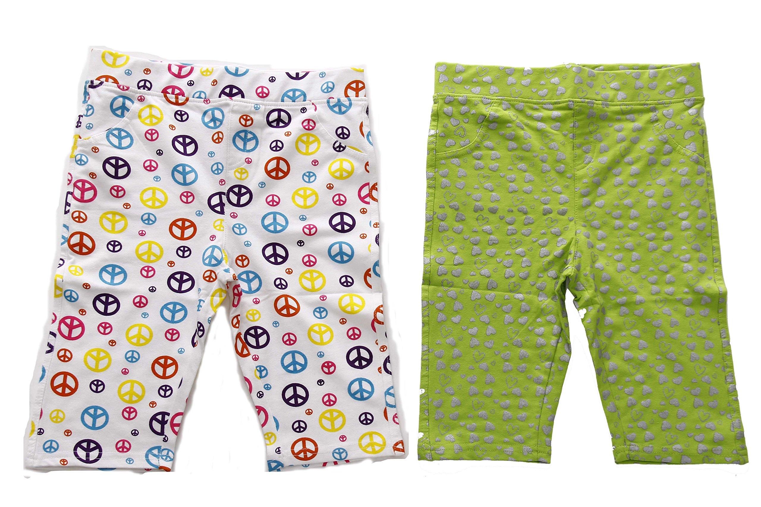 Just Love 28503-Print1-7/8 Girls Bermuda Shorts (Pack of 2)