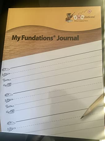 Amazon.com: Wilson Fundations My Fundations Journal: Toys & Games