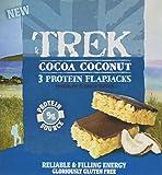 Trek Cocoa Coconut Protein Flapjack Bar 3xMP - Pack of 36 Bars