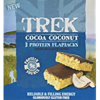 Trek Cocoa Coconut Protein Flapjack Bar 3xMP - Pack of 36 Bars