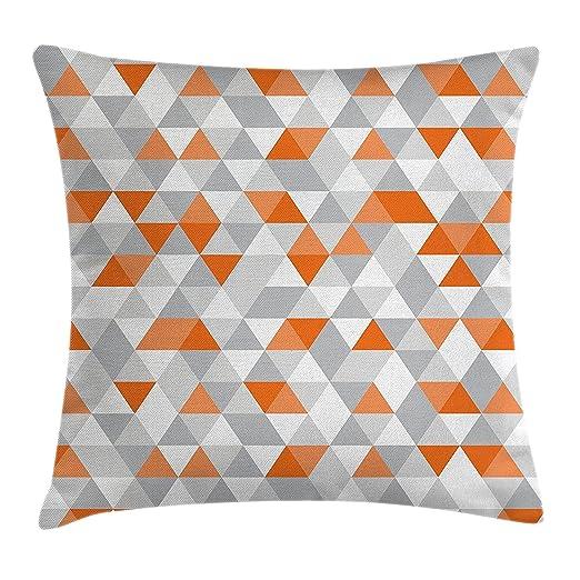 Juchenjixie - Funda de cojín geométrica, diseño de ...