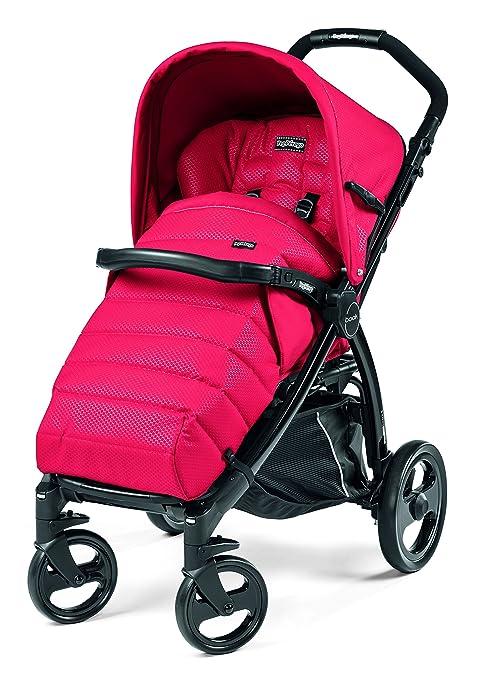 Peg Perego - Cochecito de bebé, cómodo rojo Mod Red (rot)