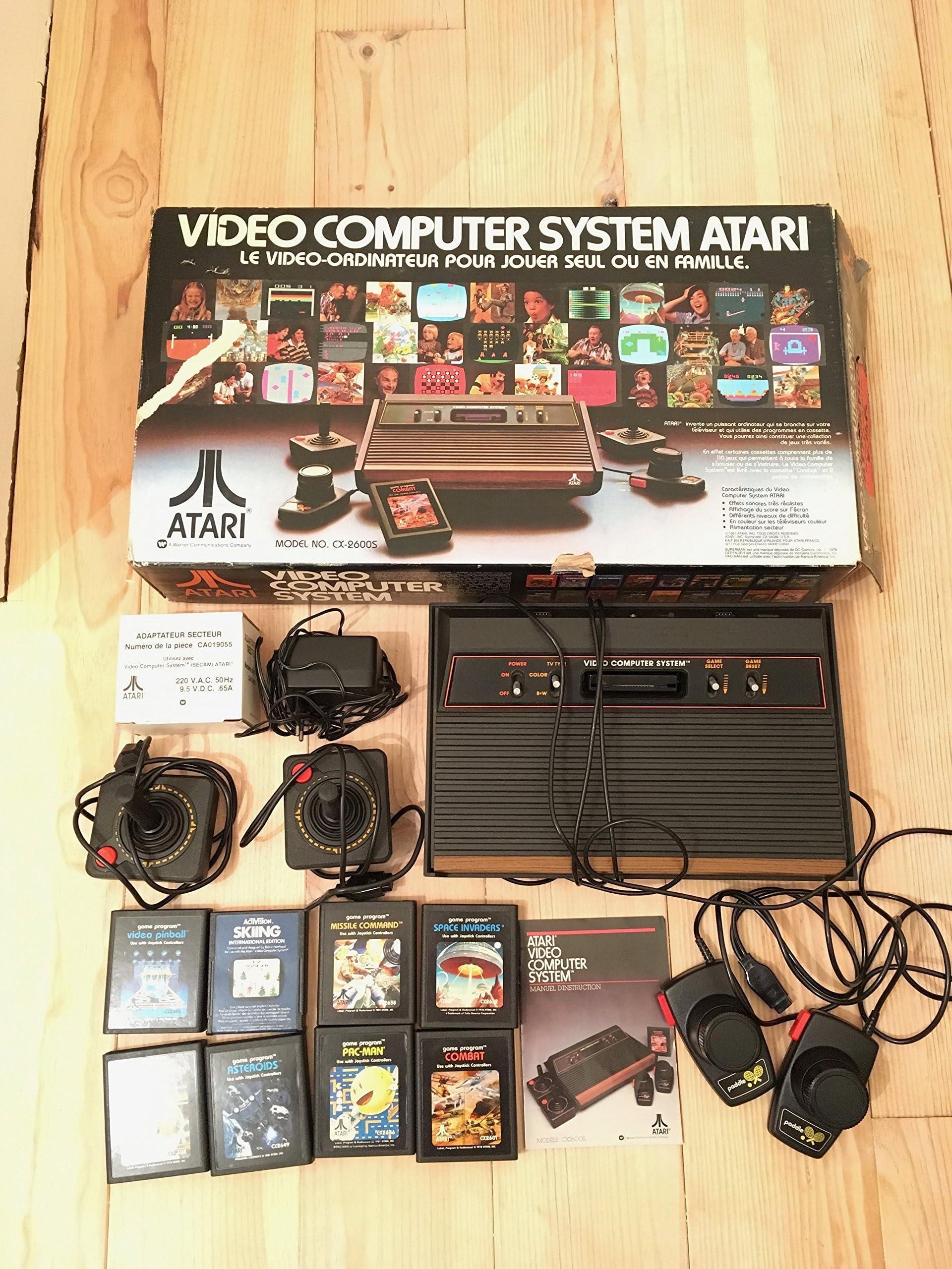 amazon com atari 2600 video games games accessories consoles