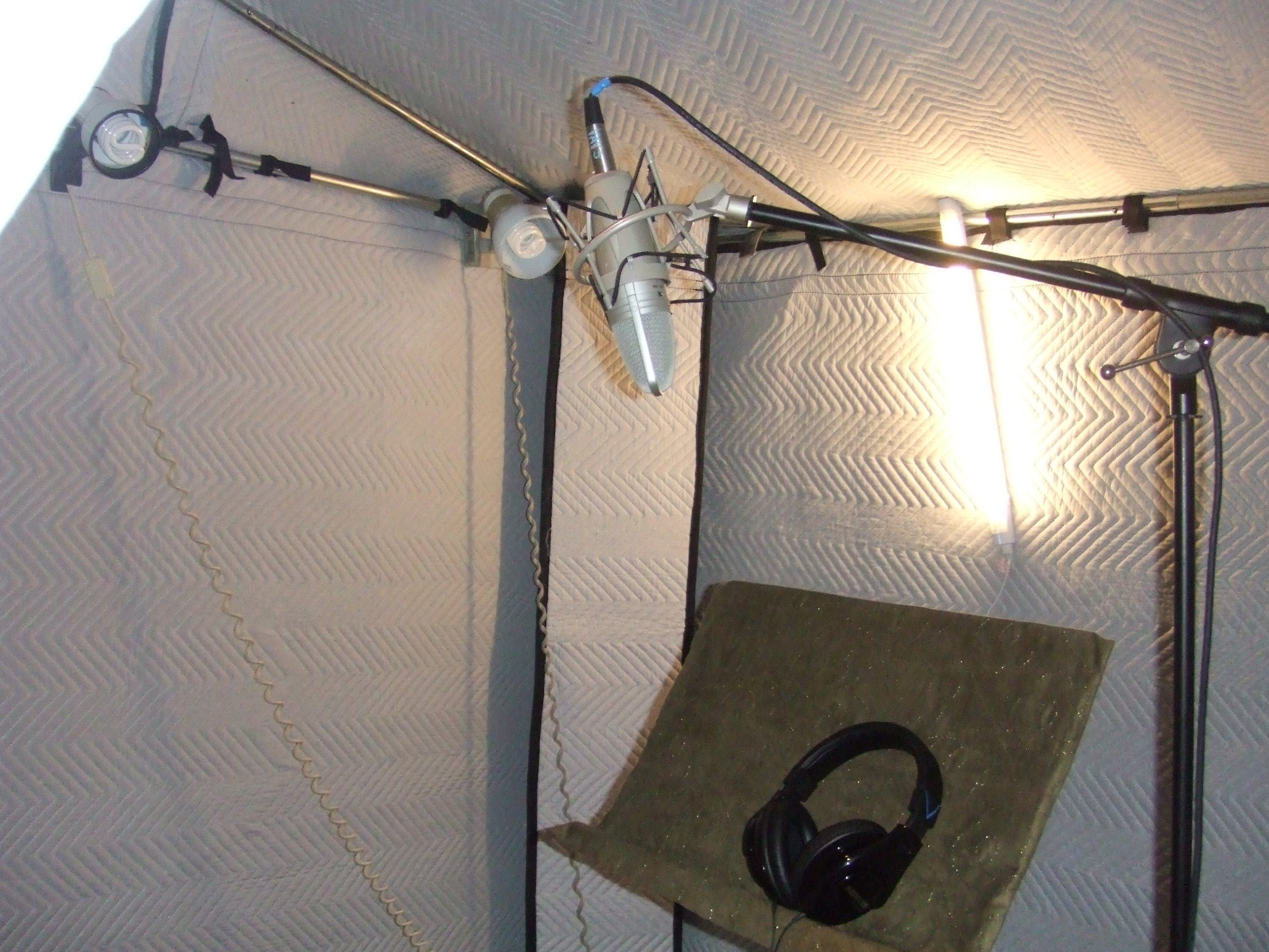 VocalBoothToGo 3 X 3 Acoustical Vocal Booth For Acoustic Treatment for Voice Overs, Audio Recordings