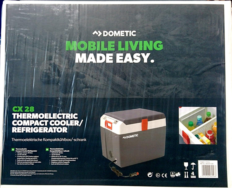 DOMETIC Kü hlbox Cooly CX 28 / CX28 Termoelektrisch, 28l, 12/24 Waeco