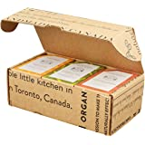 Crate 61 Citrus Soap 6-Pack Box Set, 100% Vegan Cold Process Bar Soap, scented with premium essential oils, for men and women