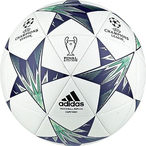 adidas Performance Finale Kiev Cap balón de fútbol, Color Blanco ...