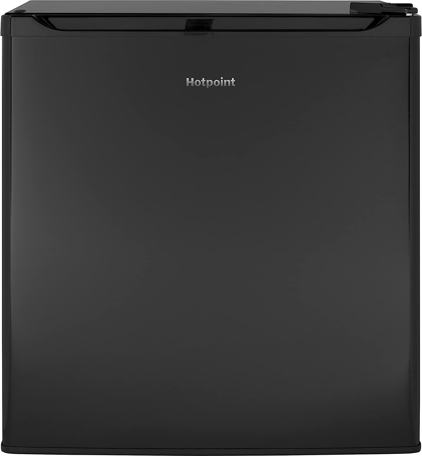 GE Hotpoint Qualified Compact Refrigerator, 1.7 Cu. Ft, Black