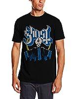 Ghost Men's Papa and Band Short Sleeve T-Shirt