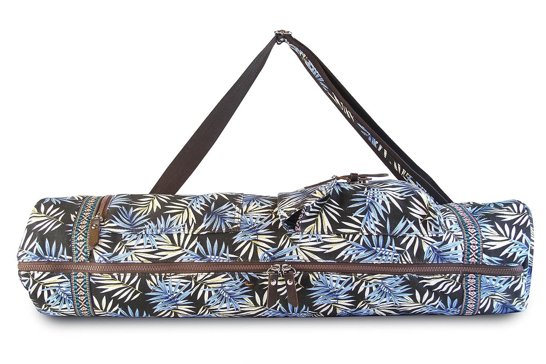b7bc60a1353b Amazon.com   SukhaMat - Large Yoga Mat Bag Carrier with 3 Storage ...